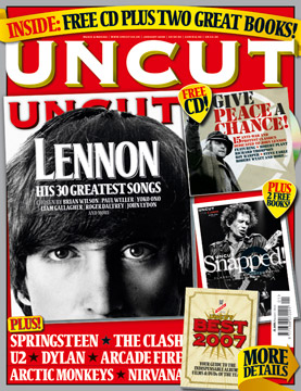 UNCUT Magazine CD Give Peace a Chance with Purple Tree